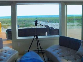 Sophisticated home on water - Amazing Views w/Large Decks & easy beach access