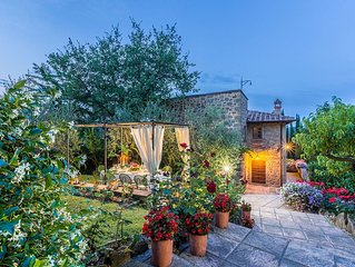 Villa in Monterchi with 5 bedrooms sleeps 10