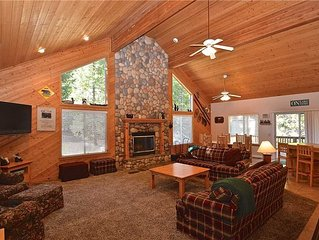 Hatchers Hideaway: 3 BR / 2.5 BA  in Shaver Lake, Sleeps 6