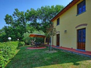 Villa in Monsummano Terme with 3 bedrooms sleeps 6