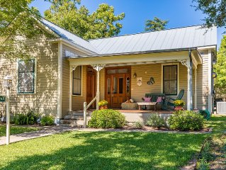 4 Br/3 Ba Modern Farm Haus Home In The Historic District Downtown Fredericksburg