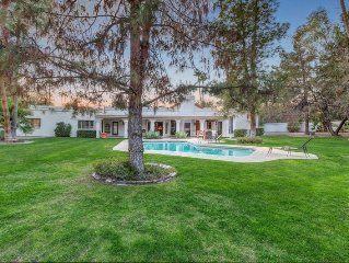 Mediterranean Palace- Luxury Paradise Valley home w/ pool, spa & spacious yard!