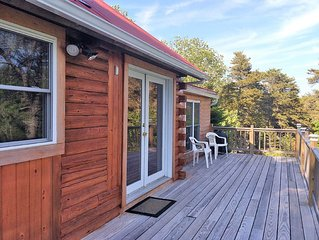 Acadia Summer Hill Log Cabin -Enjoy a true Maine experience; clean, cozy cabin!