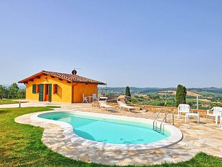 Villa in Fontanella with 2 bedrooms sleeps 4