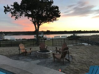 Private Pier With Breathtaking ICW Views...Hot Tub, Fire Pit and a NEW POOL!!!!