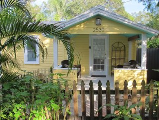Marigold Cottage in Gulfport's Art District.