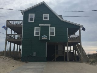 FALL WEEKS OPEN! SEMI-OCEANFRONT, GORGEOUS VIEWS, 5 BR, 3 1/2 BA, DOGS OK
