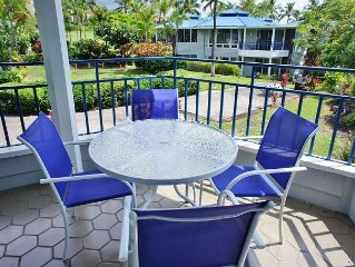 AC INCLUDED! Secluded, quiet resort with Lush Tropical Surroundings!