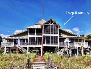 25% OFF SPRING RATE!  Beach Front beach house, amazing views!