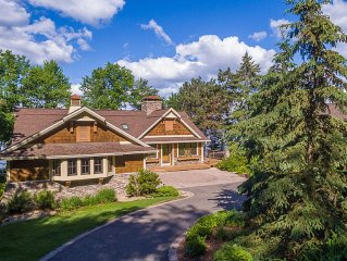Lodge Style Gull Lake Home with a beautiful view!!