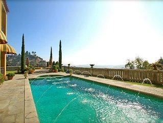 The Villa Sophia - Romantic Honeymoon Spa Retreat - Central Los Angeles Hilltop