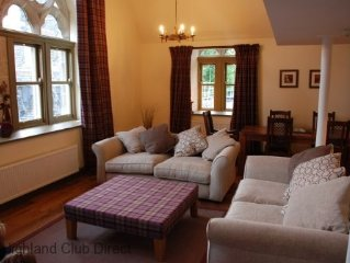 Highland Club Direct Property - Glenlivet apartment in Monastery on Loch Ness