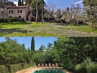 Casa Amiata: Large Charming Cottage on beautiful estate in Tuscany: Casa Amiata