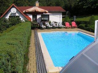 Komfortables Haus im Böhmischen Paradies, Schwimmbad 32m2, DSL Internet, Sauna