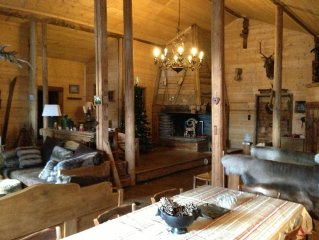 Luxury Mountain Chalet in Unique Setting 15 minutes from Megeve