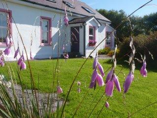 Magisches cottage mit wunderbarem Meerblick am 'wild atlantic way'.