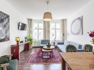 Modern two bedroom apartment for 5 people - Berlin
