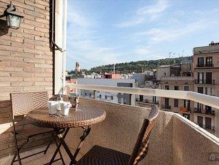 Large apartment between the Ramblas and Montjuic - Barcelona