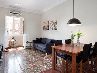Bright and cozy apartment near the Sagrada Familia - Barcelona