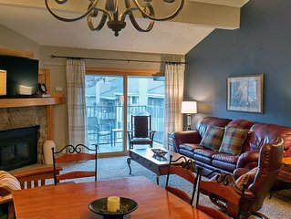 BC West #J-4: Deluxe 2BR Condo w/FREE Skier Shuttle, Heated Pool, Hot Tubs