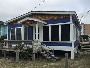 Rustic Beach Home 50' from the sand with awesome ocean views!