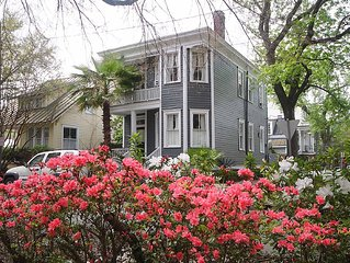 SVR-00225 Norris Cook House: 2  BR, 2.5  BA House in Savannah, Sleeps 6