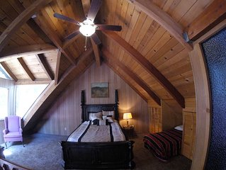 Location, Location, Location!!!  Cozy A FRAME Cabin steps from the Lake....