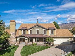 6 BR | Lake & Mountain Views |15 min. to Downtown Salt Lake City