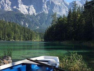 Luxus Chalet direkt an der Zugspitze u. am traumhaften Eibsee Garmisch Bayern