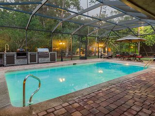 LAST MINUTE SPECIAL! HUGE 2 ACRE VACATION COMPOUND W/MOVIE THEATER & HEATED POOL