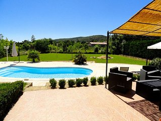 Near Uzes new-Villa 8 pers Deco neat Relaxation Sun-Calm-Pool View