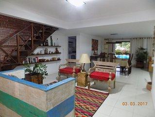 Beautiful beach house in Guarajuba, Bahia
