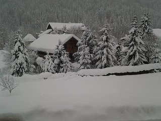 Renovated cottage, sauna, beautiful garden in the Val d'Arly near Megeve and Ar