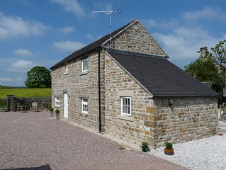 Converted Barn,  Beautiful Peak District Village Of Butterton, Countryside Views