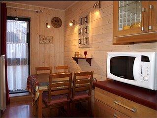 appartement pour 4 personnes avec mezzanine ,au pied des pistes et commerces