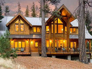 Spacious Luxury Cabin in a Spectacular Setting on Tumalo Lake in Bend, Oregon