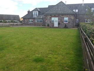 Stunning 4 bedroom farmhouse conversion sleeping up to 10 Balfron Stirlingshire