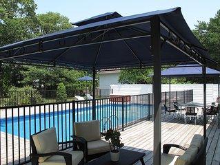 Renovated 4-BR 3-Bath, heated pool/spa and huge recreational barn with billiard