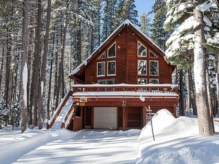 'Pine Mountain Home' Backs up to the Hiking/Skiing trails of Royal Gorge