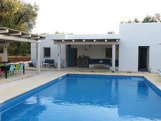 Trullo, traditional house with swimming pool