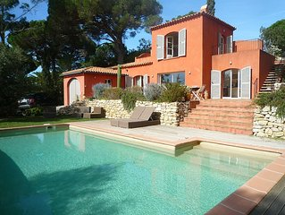 Holy maxim Villa nartelle the nearest beach, sea view and pool