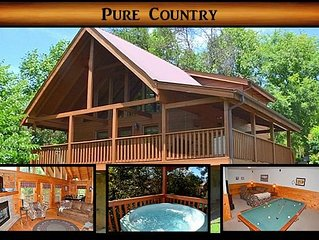 Pure Country} 3br \ 3ba \ sleeps 6-10-We Survived the Fires!