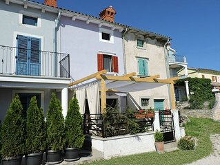 Beautifuly decorated Istrian house,in a picturesque village,immersed in nature