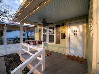 New! Charming home in a quiet country setting just blocks from Main Street