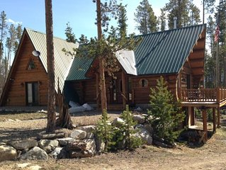 GET AWAY FROM IT ALL IN THIS CHARMING LOG HOME ON LARGE LOT! PET FRIENDLY!