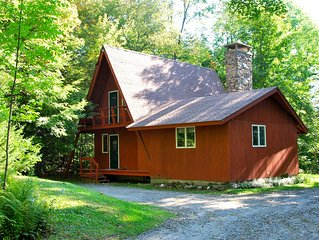 Quiet Sugarbush vacation home with ideal proximity to activities.