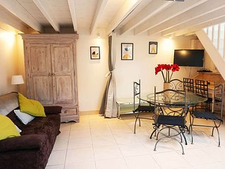 Little House DUPLEX *** in Deauville, Grand Area, Private Terrace, 2/5 p