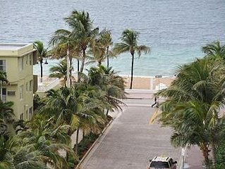 FANTASTIC FORT LAUDERDALE CONDO DIRECT OCEAN VIEWS POOL FACING INTRACOASTAL!!
