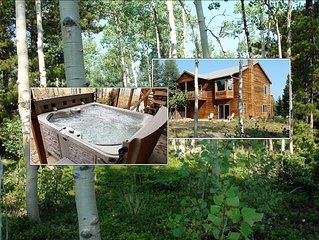 Secluded Mountain Retreat w/Hot Tub * 9,500ft - Remote & Modern