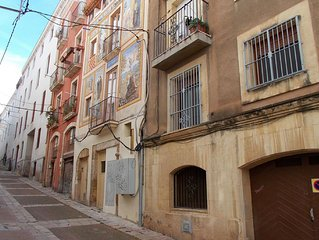 An apartment in the old city of Tarragona.